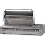 Alfresco LX2 56 Inch Natural Gas Grill with Side Burner