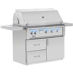Alturi 42 Inch Natural Gas Grill on Cart