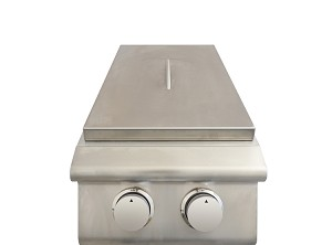 BBQ Island Double Side Burner - Natural Gas