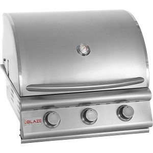 Blaze 25 Inch 3-Burner Natural Gas Grill