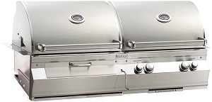 Fire Magic Aurora A830i Natural Gas and Charcoal Combo Grill