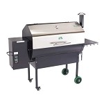 Jim Bowie Pellet Grill with Stainless Steel Hood - Green Mountain Grills  $939.00