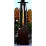 Lava Heat Italia Lava Lite Natural Gas Patio Heater - Heritage Bronze
