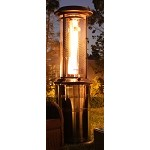 Lava Heat Italia Milano Propane Patio Heater - Brushed Copper