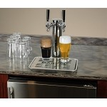 Marvel 24 Inch Twin Tap Beer Dispenser