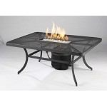 "Night Fire 36"" X 48"" Rectangular Fire Pit Table"