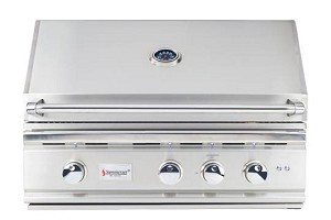 Summerset TRL 32 Inch Propane Grill w/Rotisserie and Lights