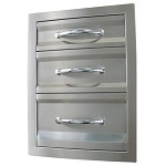 Sunstone 17 Inch Premium Triple Access Drawer