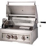 Sunstone 3 Burner 28 Inch Grill with IR Rotisserie - LP