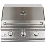 Sure Flame 26 Inch Deluxe 3 Burner Propane Grill