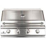 Sure Flame 32 Inch Deluxe 4 Burner Propane Grill