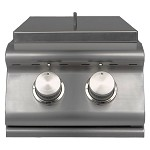 Sure Flame Elite Natural Gas Double Side Burner